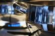 shine of modern kitchen