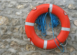 bouée et corde poster