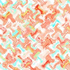 peach  pattern gift wrap