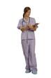 nurse on the job