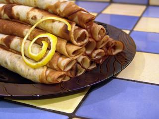 plat de crêpes