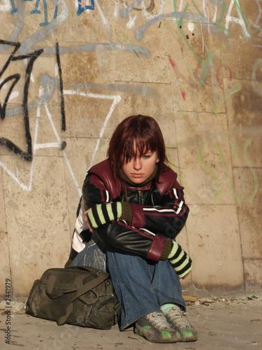 runaway redhead girl