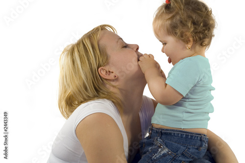 poster of playing with mom