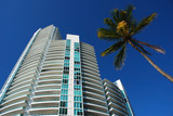 luxurious apartment units in south beach, florida poster