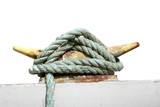 safety rope of a boat poster