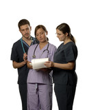3 nurses poster