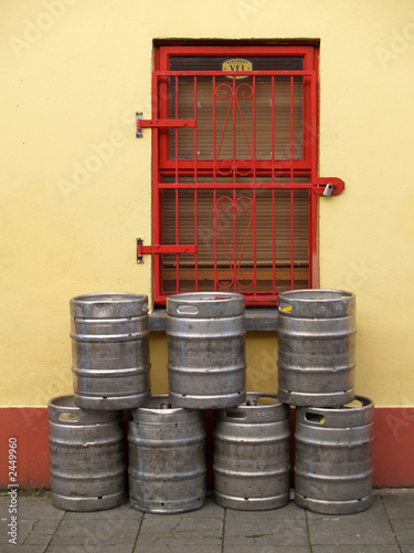 kegs of beer in ireland