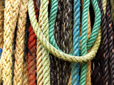 Fototapety colourful ropes