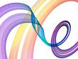 violet curve