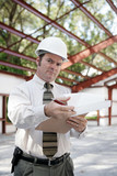 construction inspector - skepticism poster