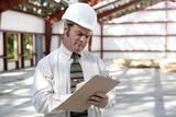 construction inspector - marking checklist poster