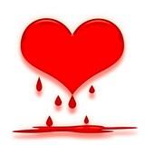 melting heart poster