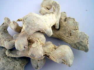 pieces of ginger