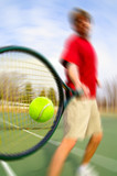 tennis hit poster