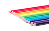 spectrum of vibrant colors poster
