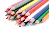 heap of color pencils poster