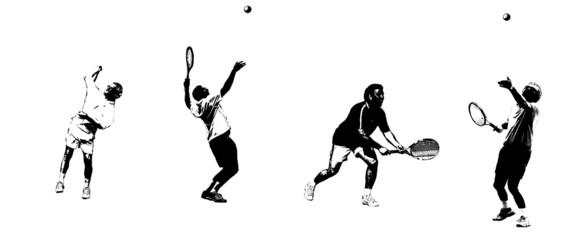 tennis mix