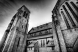 monochrome church poster