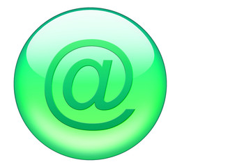 grüner email button