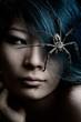 spider hair ornament
