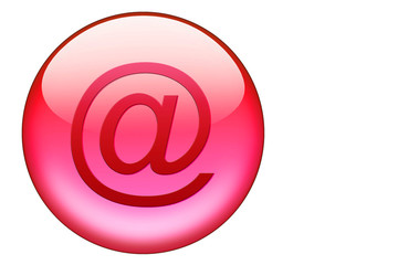 roter emailbutton