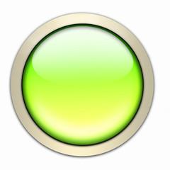 grüngelber glasbutton