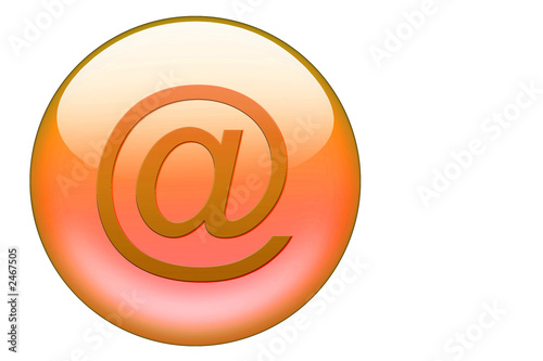 orange email glasbutton