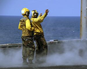 sailors at work