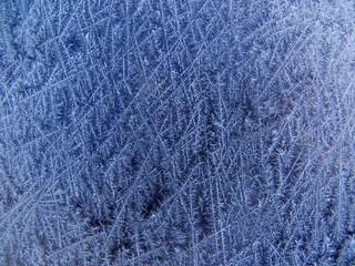 frost on windshield