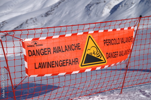danger avalanche