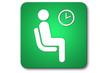 piktogramm flughafen: waiting room