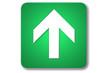 piktogramm flughafen: up arrow