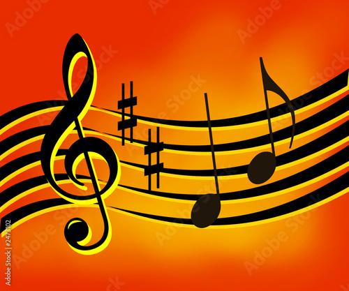 music note wallpaper. music notes background