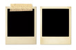canvas print picture - old photo frames (xxl)