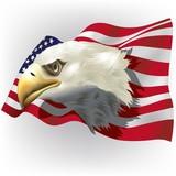 us patriotic theme poster