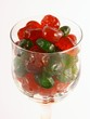 glass full of cherrie