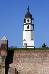 belgrade clock tower