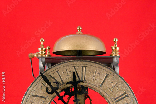 Leinwanddruck Bild doomsday clock