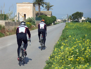 biking in majorca - 2