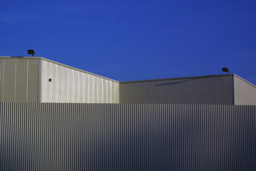 sheet-metal industry building