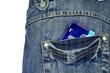condom in a poket