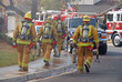 fire fighters heading to a fire - 2488349