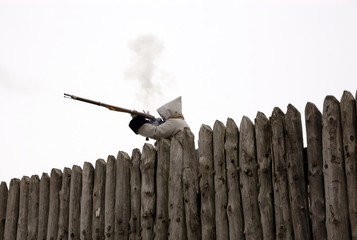 defending the fort