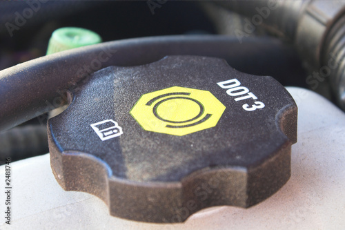poster of brake fluid reservoir cap