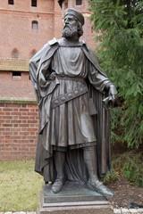 sculpture in malbork