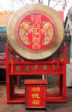 dragon drum in china. poster