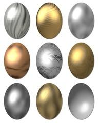 metallic ostereier 1
