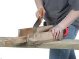 sawing away poster