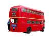 klassischer london doppeldecker bus