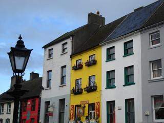 colourful street in kilkenny